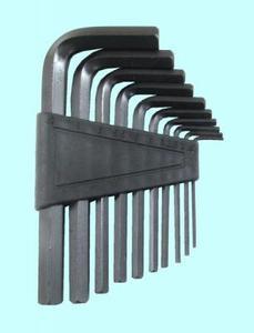 "Набор ключей Шестигранных из 10шт (1,5; 2; 2,5; 3; 4; 5; 5,5; 6; 8; 10мм) на пласт. клипсе СrV ""CNIC"" (2144)"