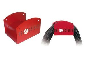 Aerservice DB10030 Кронштейн настенный для шланга 125-150 мм.
