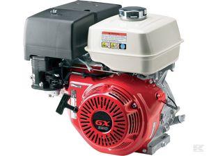 Двигатель бензиновый GX 390 E (V тип) (короткий конус)