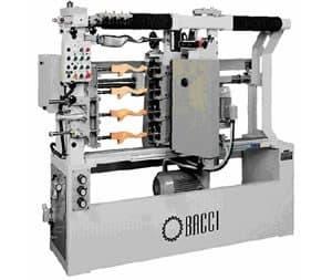 BACCI T4M-O - Фрезерно-копировальный станок Италия (Для одновременного фрезерования четырех профильных изделий )