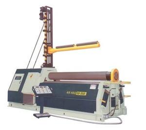 Четырехвалковый гидравлический листогиб Sahinler 4R HSS 20-400