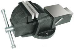 """Тиски Слесарные 100 мм (4"""") стальные неповоротные массивные с наковальней (LT83104) """"CNIC"""" (упакованы по 2шт.)"""