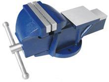 """Тиски Слесарные 150 мм (6"""") стальные неповоротные усиленные с наковальней (LT89106) """"CNIC"""" (упакованы по 1шт.)"""