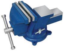 """Тиски Слесарные 125 мм (5"""") стальные поворотные облегченные с наковальней (LT96005) """"CNIC"""" (упакованы по 2шт)"""