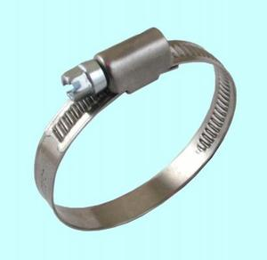 Хомут червячный CNIC  10-16/12мм W5 нержавеющая сталь DIN 3017 (01E121016)