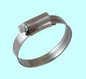 Хомут червячный  CNIC  80-100/12.7мм W4 нержавеющая сталь, усиленный BS5315 (67-2D80100)