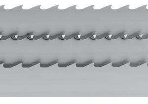 Ленточная пила 5343 (NV) – треугольные зубья, 5344 (KV) – зубья со сломанной задней гранью, 5345 (PV) – закруглённые зубья