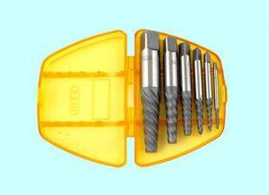 """Набор экстракторов для выворачивания сорванных винтов из 6-ти штук (М3-М6) - (М18-М25) 9ХС """"CNIC"""""""