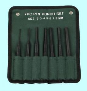 """Набор бородков цилиндрических из  8-ми шт. от 2 до 10мм, тип 2 в сумке """"CNIC"""" (ОТ308)"""