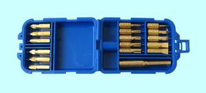 "Набор бит из 17 шт., CrV, в пластиковом футляре ""CNIC"" (KDNS-019)"