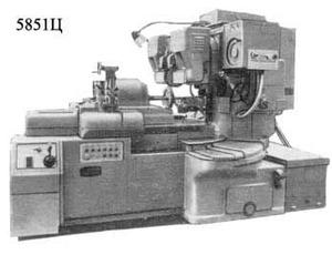 5851 - Полуавтоматы зубошлифовальные
