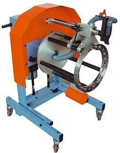 Comec TCE560 Станок для обточки новых тормозных колодок, установленных на ступицу