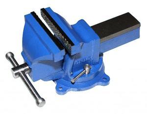 """Тиски Слесарные 125 мм (5"""") стальные поворотные облегченные без наковальни (LT96205) """"CNIC"""" (упакованы по 2шт)"""