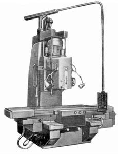 654 - Станки вертикально-фрезерные с крестовым столом
