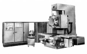 654РФ3 - Станки вертикально-фрезерные с крестовым столом