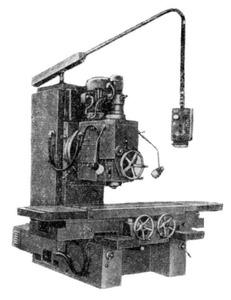 6560 - Станки вертикально-фрезерные с крестовым столом
