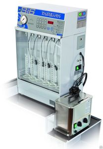 Установка ультразвуковая для проверки и промывки 6 форсунок TopAuto BI6