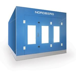 Кабина покрасочной камеры с основанием Nordberg STANDART