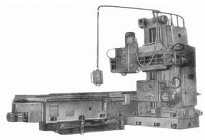 6Г310 - Станки продольно - фрезерные одностоечные
