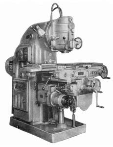 6М12П - Станки вертикально-фрезерные консольные