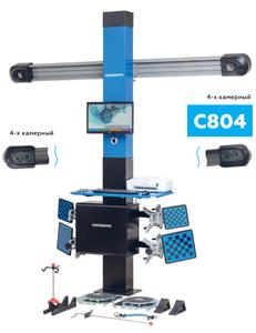 Стенд сход-развал 3D четырехкамерный Nordberg C804