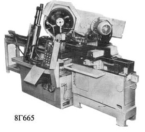 8Г665 (D-710) - Автоматы отрезные кругопильные
