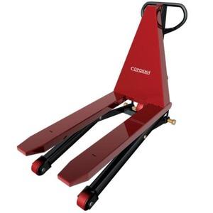 Тележка СОРОКИН гидравлическая для поддонов с ножничным подъёмом 1,5т, 85-800мм
