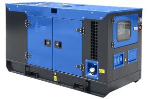 Дизельный генератор ТСС АД-12С-230-1РКМ11 в шумозащитном кожухе