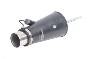 Насадка резиновая круглая с внутренним фиксатором на шланг D=75мм Nordberg AN075RP