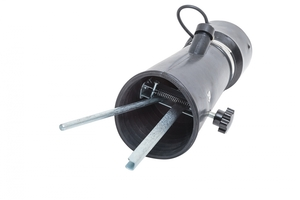 Насадка резиновая круглая с внутренним фиксатором на шланг D=100мм Nordberg AN100RP