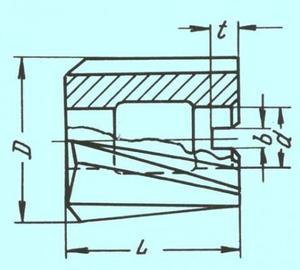 Зенкер Насадной 42,0х45х16 (№2) Z=4 ВК8
