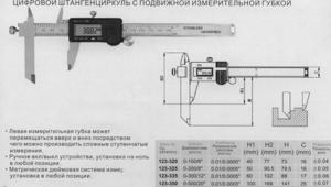 """Штангенциркуль 0 - 200 (0,01) электронный  с перемещаемой губкой """"CNIC"""" (123-325) Н-50-79.5мм"""