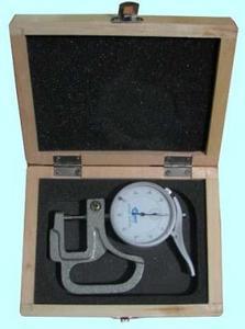 """Толщиномер индикаторный стрелочный (0-10мм), цена дел. 0,01мм, L 30мм """"CNIC"""" (580-101)"""
