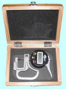 """Толщиномер индикаторный электронный (0-10мм), цена дел. 0,001мм, L  30мм """"CNIC"""" (580-250)"""
