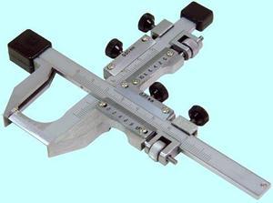 """Штангензубомер ШЗН-55 (модуль 15-55), цена деления 0.02 """"CNIC"""" (2820-066)"""