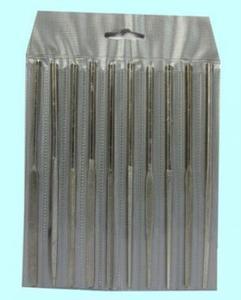 Набор надфилей алмазных из 10шт. №3 L160 80/63