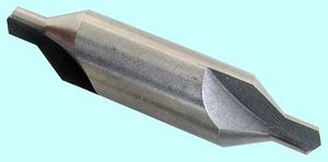 "Сверло d  6,3х80  центровочное ВК8 двухстороннее, тип А (без предохр. конуса) цельное ""CNIC"""