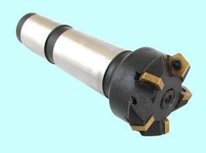 Фреза Концевая d63,0х190 Т5К10 к/х с механическим креплением  5-ти гранных пластин (PNUA-110408 dвн=6мм) Z=5, КМ5