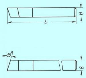 Резец Проходной прямой 32х20х160 Т14К8