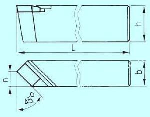 Резец Проходной прямой 25х20х140 Т15К6