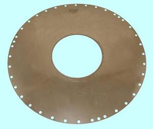 Круг отрезной алмазный с внутренней реж. кромкой АВРК 422х152х0,32х76 АС6 50/40 3,6 карат