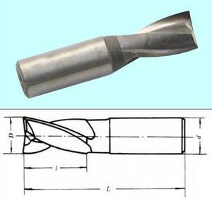 Фреза Шпоночная d 3,0х 5х32 ц/х Р6М5 (без маркировки)