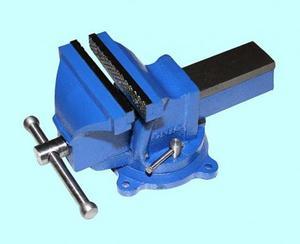 """Тиски Слесарные 150 мм (6"""") стальные поворотные облегченные без наковальни (LT96206) """"CNIC"""" (упакованы по 2шт.)"""