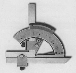 """Угломер 0-320°  для измер. передних и задних углов,цена дел.2 мин. """"GRIFF"""""""