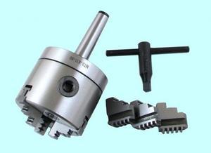 """Патрон токарный d 125 мм 3-х кулачковый с хвостовиком КМ4 кулачки К11 """"CNIC"""""""