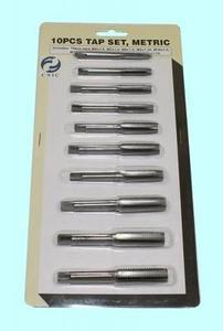"""Набор метчиков из 10 штук (М6-М12) 9ХС в блистере (SC010-1) """"CNIC"""""""