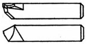 Резец Расточной державочный 14х14х 60мм ВК8 тип 1 (2142-5241)