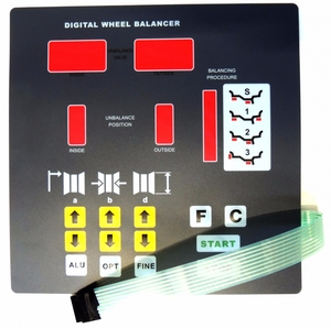 Клавиатура NORDBERG S-115-008000-0 (X000332)