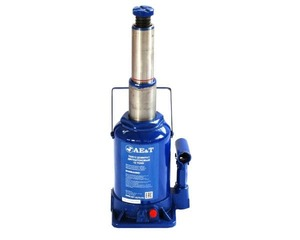 Домкрат бутылочный двухштоковый AE&T T02012 12т