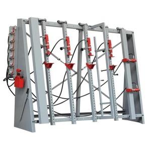 Пресс для склеивания с прижимными элементами на рамной конструкции HOLZ MANN VSTR3000